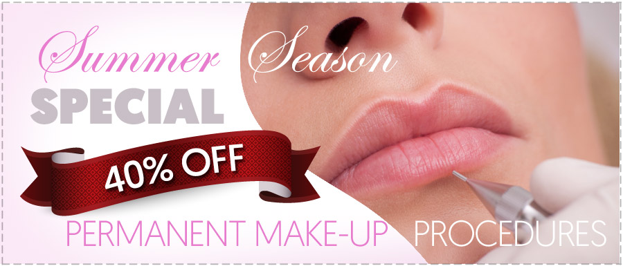 40% of permanent makeup services in Mississauga and Toronto.
